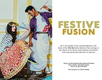 Festive Fusion-Diwali Shoot for Myntra.com