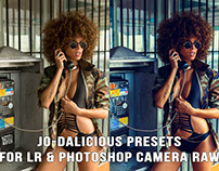 Jo-Dalicious presets for Lightroom & Adobe CameraRaw