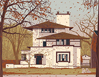 Frank Lloyd Wright - Oak Park