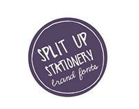Split Up Stationary – Brand Fonts