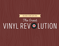 The Great Vinyl Revolution infographic