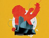 Barbican Centre - La Phil Illustration