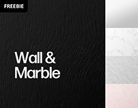 Free Download: Wall & Marble Background Textures