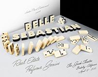 BELLE & SEBASTIAN • GIG POSTER