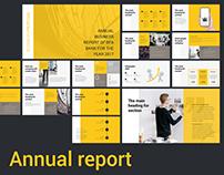AnnualReport Presentation template