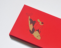 Books.com.tw X Paper Travel: Red Envelopes