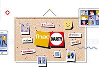 FNAC DARTY - Animation des vœux 2021