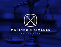 Marinho & Ximenes Law Firm Logo Design