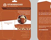 Starbucks Air Freshener Blister Card - Print