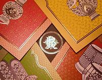 Mughal Inspired Wedding Invites