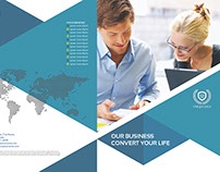 Corporate Business Tri-Fold Brochure Vol.23
