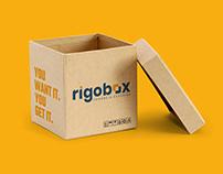 Rigobox - Diseño de Identidad