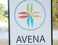 Avena Integrative Medical Center Signage