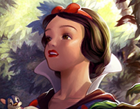 Disney Paintovers