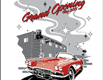 B&R Auto Wrecking: Grand Opening Design