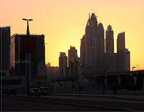 Dubai at Evening