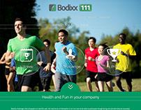 Bodixx 111 website design