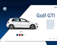 VW - Landing Page Concept