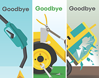 Goodbye - Ad campaign