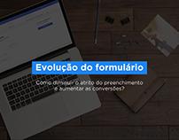 Evolução do formulário (globo.com)