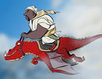 Dragon rider - concept