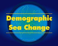 Motion Design Infographics - World Demographic Change