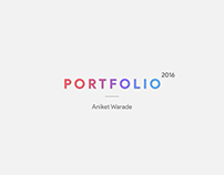 Industrial Design Portfolio 2016