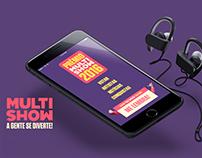 App Prêmio Multishow de Música Brasileira 2016