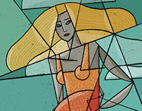 Cubist Ladies #2
