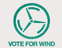VOTE FOR WIND LOGO
