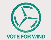 VOTE FOR WIND LOGO