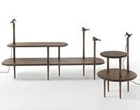JONNY & JENNY for Porada - design Stefano Bigi