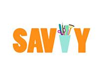 savvy.com Logo Idea