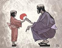 Itachi and Sarada Uchiha