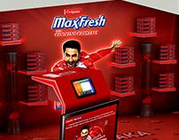 Colgate Max fresh Stall Design