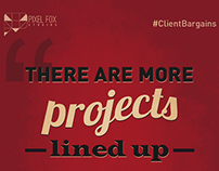 #ClientBargains