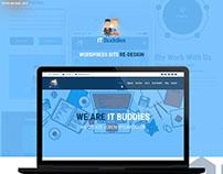 Site Re-Design (Wordpress) - IT Buddies