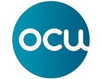 Campaña gráfica para OCU.