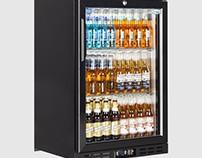 Interlevin EC10H Low Energy Single Door Bottle Cooler 1