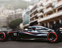 Mobil 1 Ultimate team member / Mc Laren - Honda