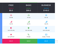Awesome Pricing Table