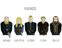 Print - Viking Warriors