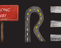 Street - Illustrated Letterform