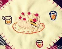 SUNNY DAY_Embroidery cover