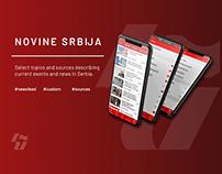 Novine SrbijaNews App