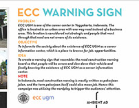 ECC UGM Warning Sign