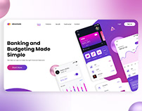 Best Banking and Budgeting Platform UI Design