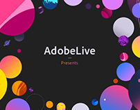 Adobe Live: Visual Identity