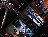 Devil May Cry: Characters of DMC — microsite