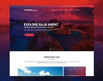 Redesign Kaha Holiday Web